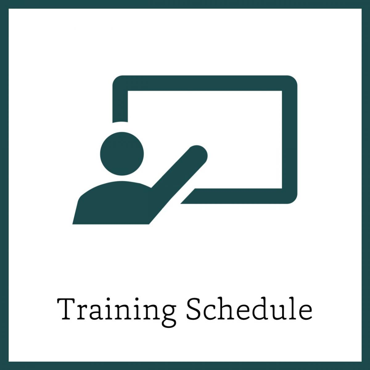 Icon for Training Schedule Link