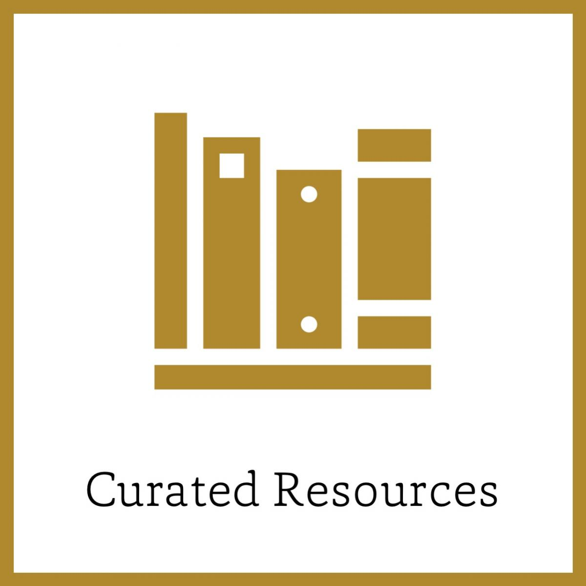Curate Resources icon link